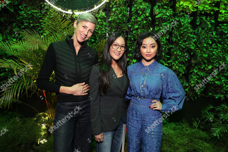 Stock Photo of Cinematographer Sophie Darlington, Lisa Nishimura - NetflixÕs VP of original documentary and comedy and Moderator Lana Condor at a private press screening for Netflix's upcoming nature doc series Our Planet, launching globally on April 5th.
