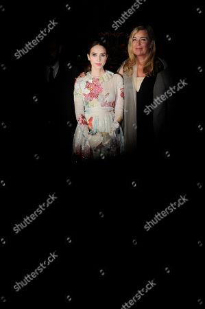 Lone Scherfig and Zoe Kazan
