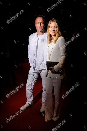 Nora von Waldstatten and Mark Waschke