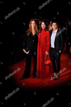 Esther Schweins, Iris Berben and Dunja Hayali