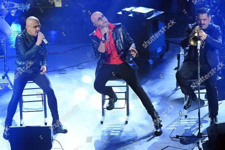 Editorial photo of 69th Sanremo Music Festival, Italy - 08 Feb 2019