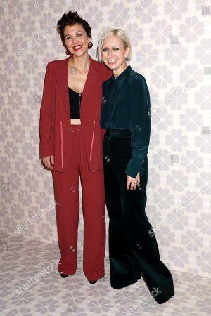 Maggie Gyllenhaal and Nicola Glass