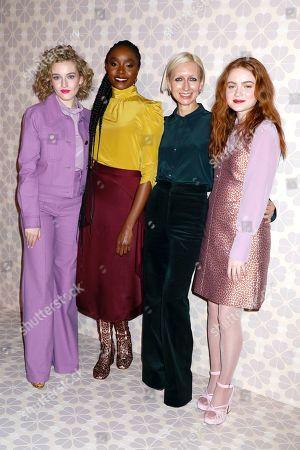 Julia Garner, KiKi Layne, Nicola Glass and Sadie Sink