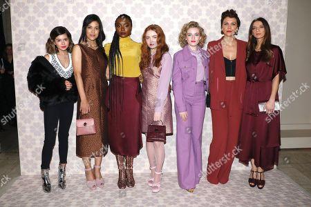 Addison Riecke, Julia Jones, KiKi Layne, Sadie Sink, Julia Garner, Maggie Gyllenhaal and Angela Sarafyan