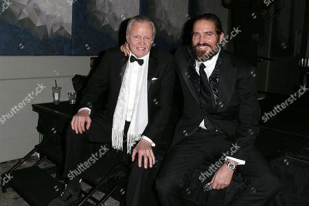 Stock Image of Jon Voight and Jim Caviezel