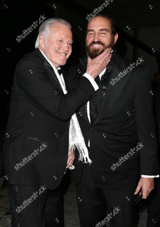 Jon Voight and Jim Caviezel