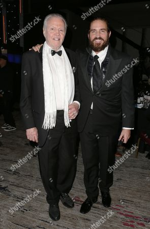 Stock Picture of Jon Voight and Jim Caviezel