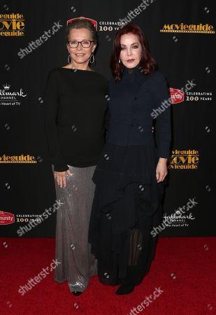 Cheryl Ladd and Priscilla Presley
