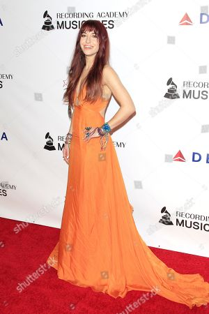 Lauren Daigle arrives for the 2019 MusiCares Person of the Year Tribute in Los Angeles, California, USA 08 February 2019. MusiCares Person of the Year Tibute honored US musician Dolly Parton for her extraordinary creative accomplishments and significant charitable work.