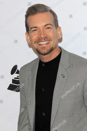 Damon Sharpe arrives for the 2019 MusiCares Person of the Year Tribute in Los Angeles, California, USA 08 February 2019. MusiCares Person of the Year Tibute honored US musician Dolly Parton for her extraordinary creative accomplishments and significant charitable work.