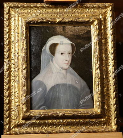 A rare portrait of Mary Queen of Scots as it goes on public display at Hever Castle for the first time.