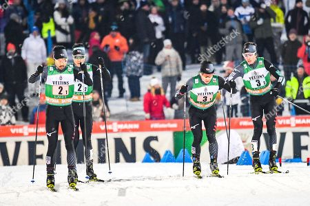 Editorial picture of FIS Nordic Combined World Cup in Lahti, Finland - 09 Feb 2019