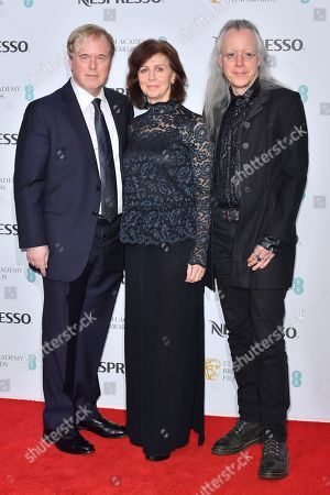 Brad Bird and Nicole Paradis Grindle attending the BAFTA Nespresso Nominees party
