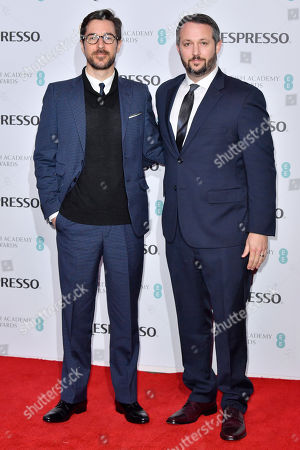 Raymond Mansfield and Sean McKittrick attending the BAFTA Nespresso Nominees party