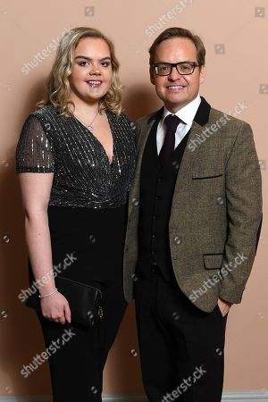 Exclusive - Jon S Baird and guest attending the BAFTA Nespresso Nominees party