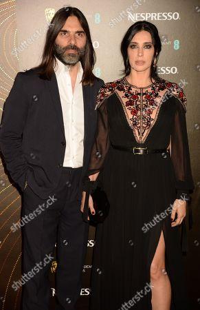 Khaled Mouzanar and Nadine Labaki