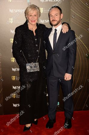 Glenn Close and Chris Terrio