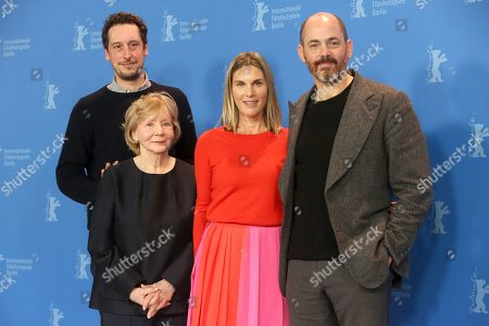 German actor Jan Krueger, German actress Nele Mueller-Stoefen, German actress Christine Schorn and German director Edward Berger pose during the photocall of 'All my Loving' during the 69th annual Berlin Film Festival, in Berlin, Germany, 09 February 2019. The movie is presented in the Panorama section at the Berlinale that runs from 07 to 17 February.