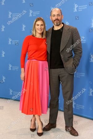 German actress Nele Mueller Stoefen and German director Edward Berger pose during the photocall of 'All my Loving' during the 69th annual Berlin Film Festival, in Berlin, Germany, 09 February 2019. The movie is presented in the Panorama section at the Berlinale that runs from 07 to 17 February.