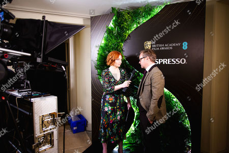 Alice Levine and Jon S Baird attending the BAFTA Nespresso Nominees party
