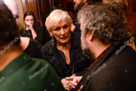 Glenn Close and Peter Jackson attending at the BAFTA Nespresso Nominees party