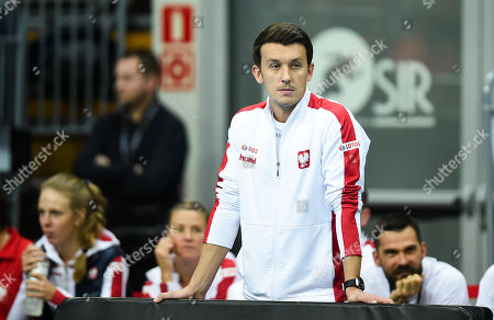 Editorial picture of Poland v Denmark, Fed Cup Tennis, Zielona Gora, Poland - 08 Feb 2019