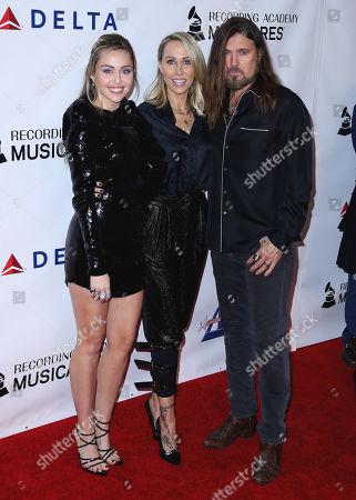 Miley Cyrus, Letitia Cyrus, Billy Ray Cyrus