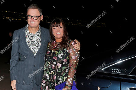 Jeff Pope and guest attending the BAFTA Nespresso Nominees party