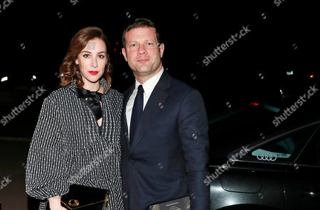 Dermot O'Leary and Dee Koppang attending the BAFTA Nespresso Nominees party