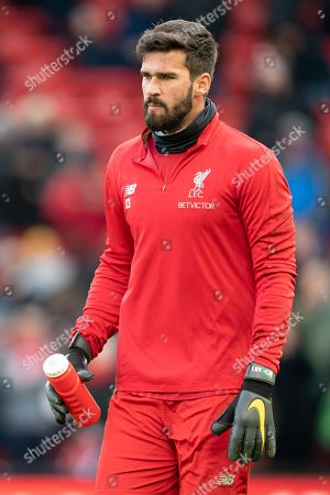 Liverpool's Alison Becker Terry Donnelly/Mercury Press The Premier League - Liverpool v Bournemouth City - Saturday 9th February 2019 - Anfield - Liverpool