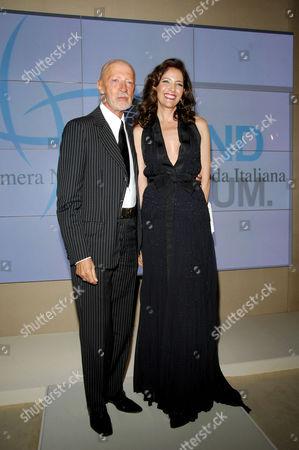 Lorenzo Riva and Melba Ruffo Di Calabria