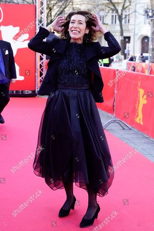 Adele Neuhauser arrives for the premiere of 'Brecht' during the 69th annual Berlin Film Festival, in Berlin, Germany, 09 February 2019. The movie is presented out of Competition at the Berlinale that runs from 07 to 17 February.