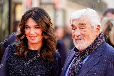 Mario Adorf and Iris Berben arrive for the premiere of 'Brecht' during the 69th annual Berlin Film Festival, in Berlin, Germany, 09 February 2019. The movie is presented out of Competition at the Berlinale that runs from 07 to 17 February.