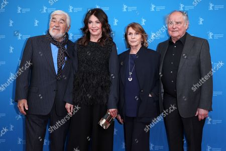 Mario Adorf, Iris Berben, Senta Berger and Michael Verhoeven arrive for the premiere of 'Brecht' during the 69th annual Berlin Film Festival, in Berlin, Germany, 09 February 2019. The movie is presented out of Competition at the Berlinale that runs from 07 to 17 February.