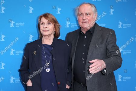 Stock Picture of Senta Berger and Michael Verhoeven arrive for the premiere of 'Brecht' during the 69th annual Berlin Film Festival, in Berlin, Germany, 09 February 2019. The movie is presented out of Competition at the Berlinale that runs from 07 to 17 February.