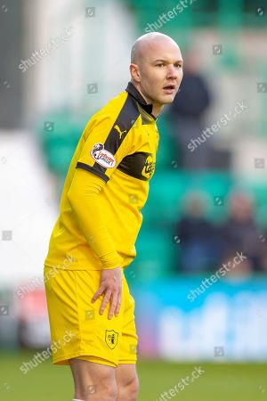 Grant Gillespie (#8) of Raith Rovers FC during the William Hill Scottish Cup match between Hibernian FC and Raith Rovers FC at Easter Road Stadium, Edinburgh