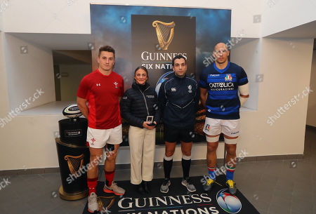 Editorial image of 2019 Guinness Six Nations Championship Round 2, Stadio Olimpico, Rome, Italy  - 09 Feb 2019
