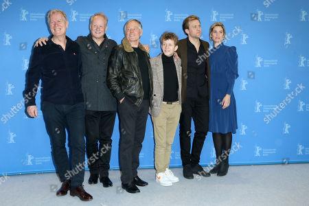 Hans Petter Moland, Stellan Skarsgard, Bjorn Floberg, Jon Ranes, Tobias Santelmann and Danica Curcic
