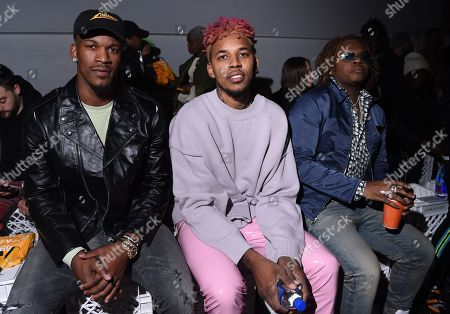 Jimmy Butler, Nick Young and Gunna