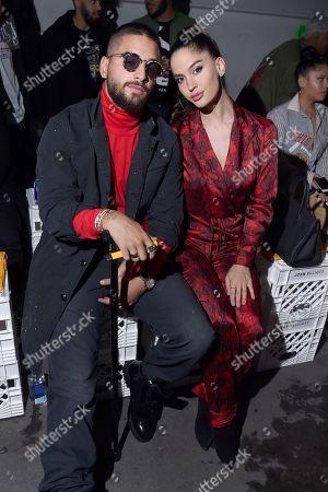 Maluma and Natalia