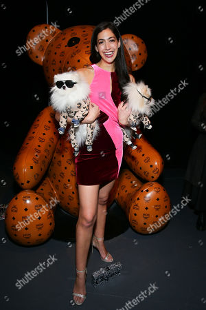 Editorial image of Daily Front Row x MCM Launch Party, Fall Winter 2019, New York Fashion Week, USA - 09 Feb 2019
