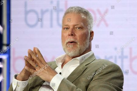 """Stock Picture of Kevin Nash participates in the """"Living the Dream"""" panel during the Britbox presentation at the Television Critics Association Winter Press Tour at The Langham Huntington, in Pasadena, Calif"""