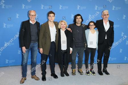 Herman Weigel, Jonas Dassler, Margarethe Tiesel, Fatih Akin, Nurhan Sekerci-Porst and Heinz Strunk