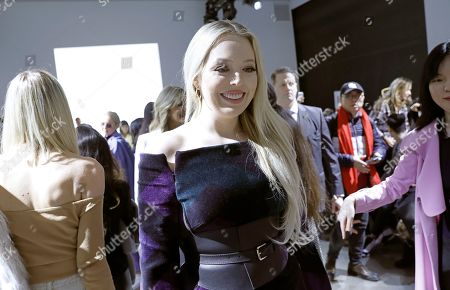 Tiffany Trump, daughter of US President Donald Trump attends the Taoray Wang  fashion show during New York Fashion Week in New York, New York, 09 February 2019. New York Fashion Week for designer's autumn and winter lines is being held from 06 to 13 February 2019.