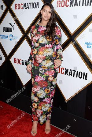 ROC Nation Pre Grammy Brunch Los Angeles Stock Photos