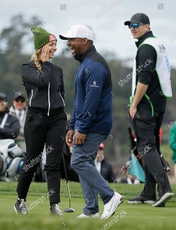 Editorial picture of Golf, Pebble Beach, USA - 09 Feb 2019