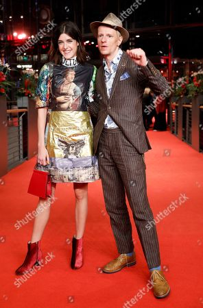 Marie Nasemann (L) and German actor Alexander Scheer (R) arrive for the premiere of 'The Golden Glove' (Der Goldene Handschuh) during the 69th annual Berlin Film Festival, in Berlin, Germany, 09 February 2019. The movie is presented in the Official Competition at the Berlinale that runs from 07 to 17 February.