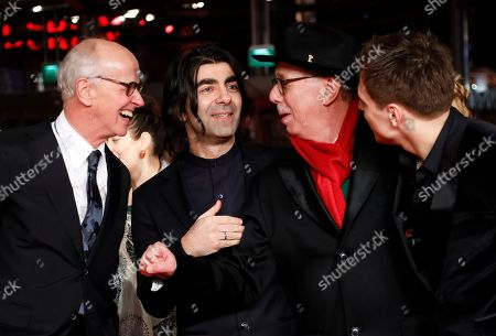 German producer Herman Weigel, German director Fatih Akin, Festival director Dieter Kosslick and German actor Jonas Dassler arrive for the premiere of 'The Golden Glove' (Der Goldene Handschuh) during the 69th annual Berlin Film Festival, in Berlin, Germany, 09 February 2019. The movie is presented in the Official Competition at the Berlinale that runs from 07 to 17 February.