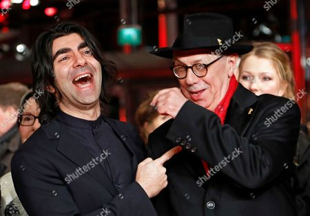Fatih Akin and Festival director Dieter Kosslick arrive for the premiere of 'The Golden Glove' (Der Goldene Handschuh) during the 69th annual Berlin Film Festival, in Berlin, Germany, 09 February 2019. The movie is presented in the Official Competition at the Berlinale that runs from 07 to 17 February.