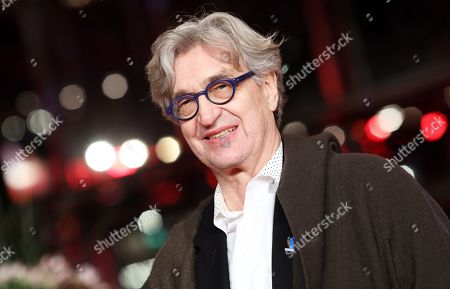 Wim Wenders arrives for the premiere of 'The Golden Glove' (Der Goldene Handschuh) during the 69th annual Berlin Film Festival, in Berlin, Germany, 09 February 2019. The movie is presented in the Official Competition at the Berlinale that runs from 07 to 17 February.